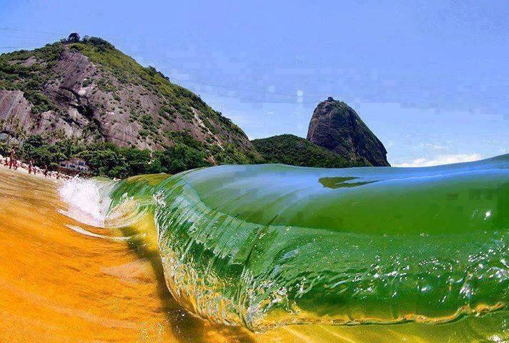 Red Beach, Rio De Janeiro, Brazil... so amazing!