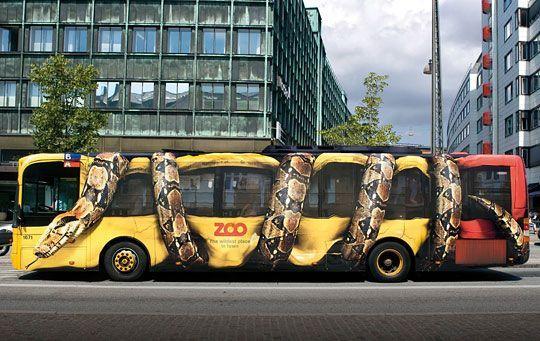 Snake bus