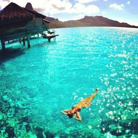 Who wants to relax on Bora Bora