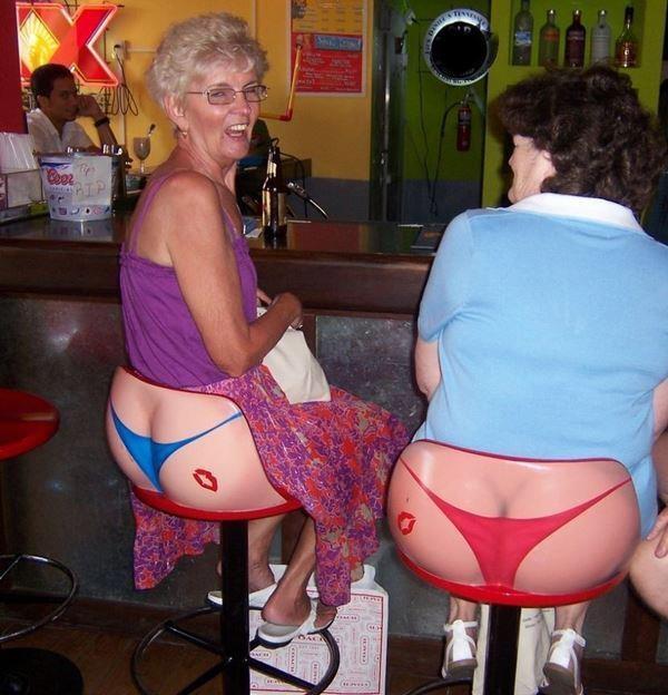 funniest bar stools ever...omg! haha