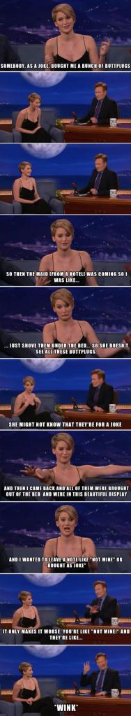 Jennifer Lawrence - Butt Plugs