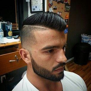Facial Hair Fade hard part