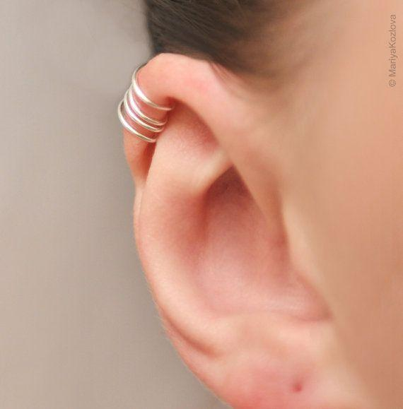 No Piercing Cartilage Ear Cuff for the Upper Ear