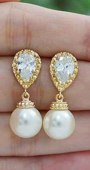 Gift Bridal Earrings Bridal Jewelry