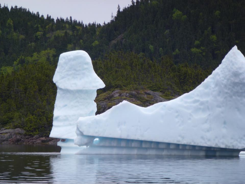 They say that 90% of an iceberg is below the water's surface. So I gu