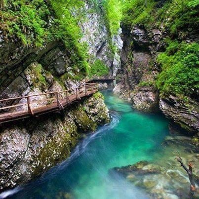 River Side bridge, Slovenia
