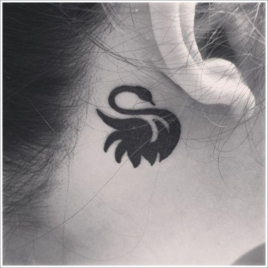 Swan Tattoo Designs