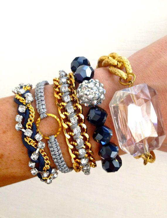 Moonlight Arm Candy Bracelet Set