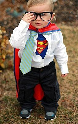 Little Man of Steel... Too Cute
