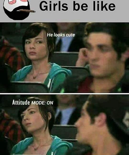 Funny Girls Be Like