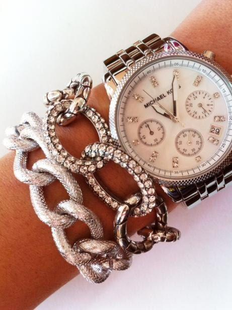Blanca silver bracelet