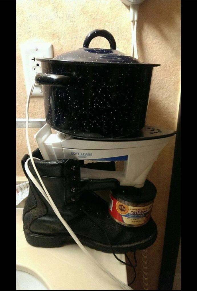 What to do if you don't have a stove.