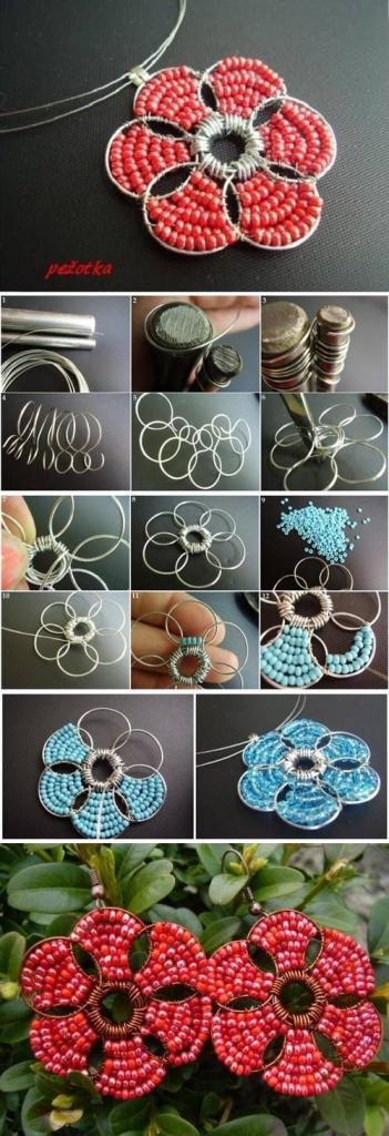 DIY Bead Earrings diy crafts craft ideas easy crafts diy ideas crafty