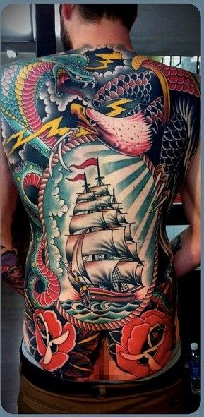 Tattoo By Tim Hendricks