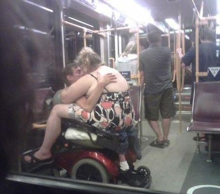 Getting it On On the Subway -- hilarious jokes funny pictures walmart