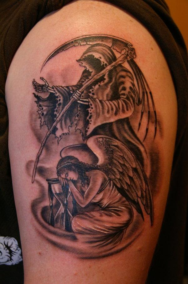 Angel of Death Tattoos