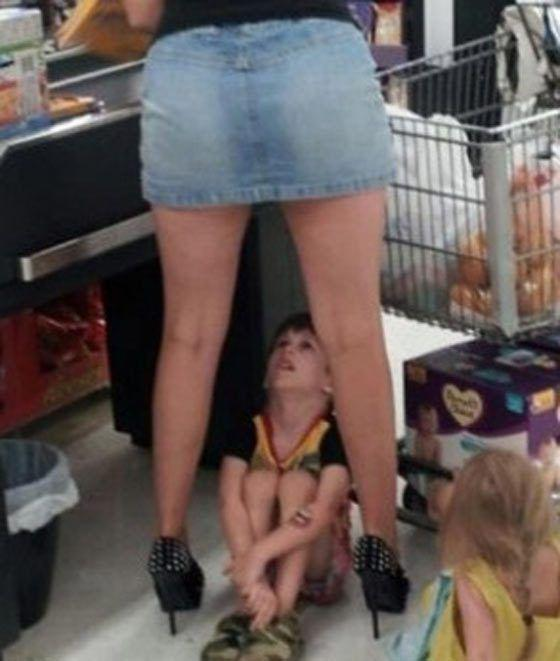 Funny People Of America In Walmart