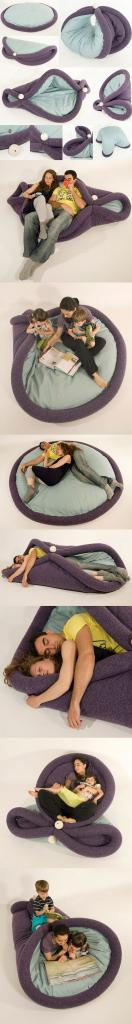 wonder if I can talk hubby into me making this... Giant pillow thingy