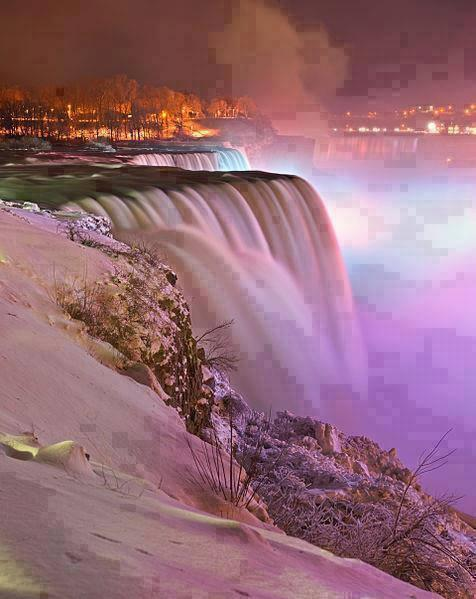 Niagara Falls at Night... so amazing!