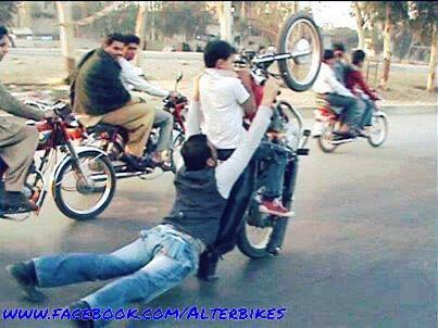 bike willing in pakistan