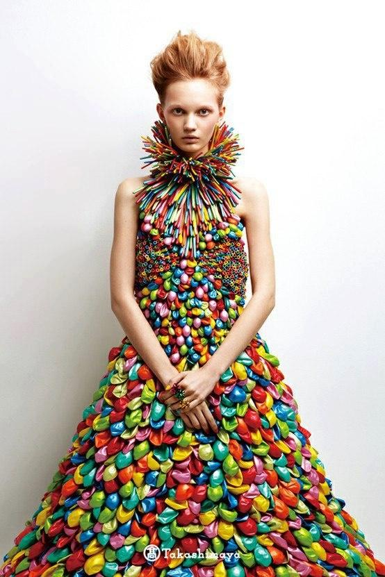 Daisy Balloon Dress WHAT THE WORLD