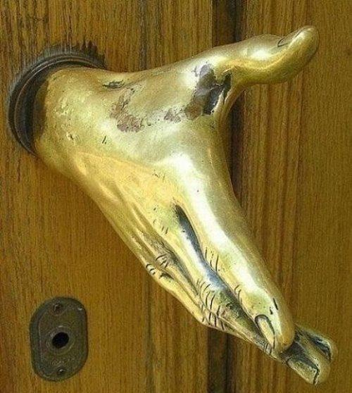 Door KNOB. My favorite!!!!