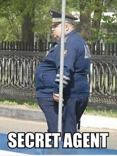 Secret Agent... LOL