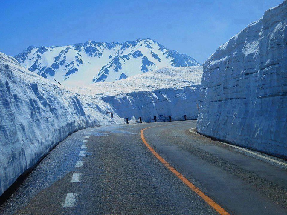Snow Highway Photos