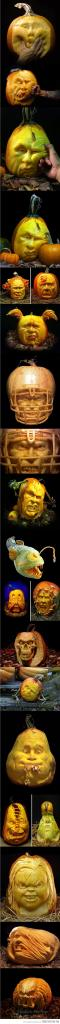 Amazing creative #Pumpkin carvings