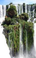 Waterfall Island, Alto Parana, Paraguay... amazing!