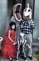Beetlejuice Family - 2012 Halloween Costume Contest Totally Awesome