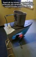 Student life stove for cooking... LOL