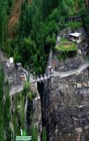 Gilgit Baltistan Bridge height of 1000 Meter