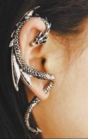 Amazing dragon ear cuff