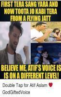 Atif Aslam In Funny Meme