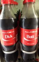 Share a Coke, let it be done.