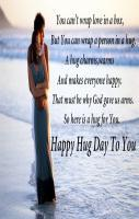 Happy Hug Day to Your Gf or BF