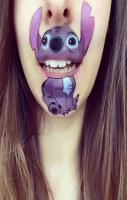 we should do this to ur face next winter when you have your stitch one
