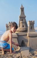 how to build a sand castle...