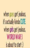 Guy Vs Cute Girl World War 3