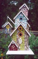 Birdhouse Mosaics