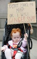 When redheads get angry…