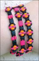 pattern for Stackers bracelet using super duo brick