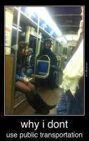 The things you witness on a subway train