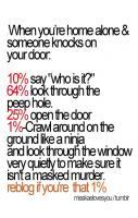People Reaction to Door Bell.. LOL
