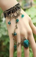 Fashion bracelet ring jewelry vintage Bronze jewelry women's summer f
