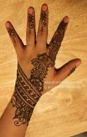 I like this mehendi design