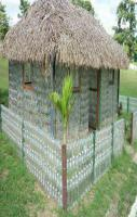 How to create Hut from waste plastic bottles