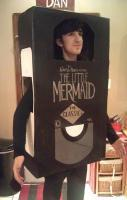 The Little Mermaid VHS costume.