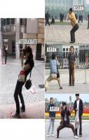 How Asian Capture Photos... LOL